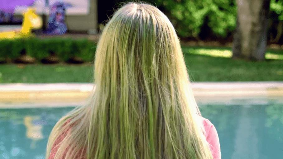 Cabelo esverdeado - Imagem: Divulgação/Internet
